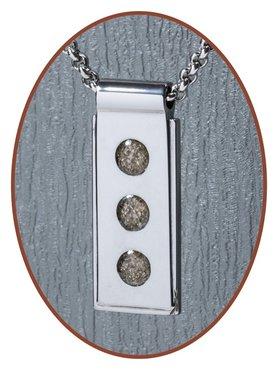 JB Memorials Premium Tungsten Carbide Designer Ashanger - TU005