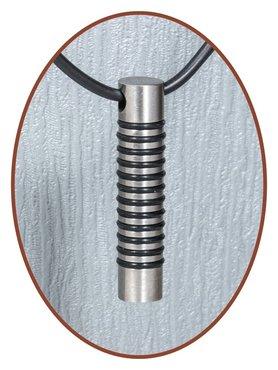 Titanium JB Memorials Premium Design Ashanger - T013