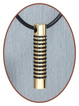 Titanium JB Memorials Premium Goudkleurige Design Ashanger - T015