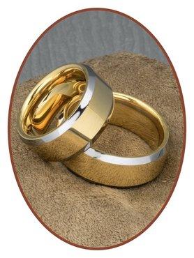 Forever Love Collection Tungsten Carbide Relatie Trouw Ringen Set - TC410