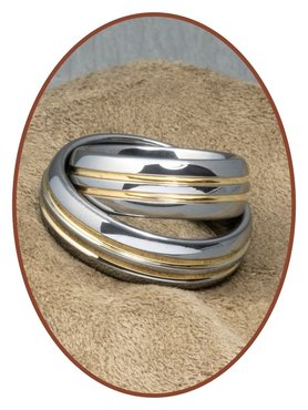 Forever Love Collection Tungsten Carbide Relatie Trouw Ringen Set - TC777