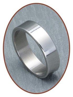 316L Edelstalen Graveer Ring - TR011