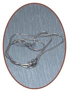 Edelstalen RVS Snake Ketting / Collier - RVS235