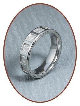 316L Edelstalen Graveer Ring - RSSD03