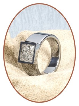 JB Memorials Tungsten Carbide Heren As Ring - RB128