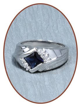 Sterling Zilveren Zirkonia Dames As Ring - RB056