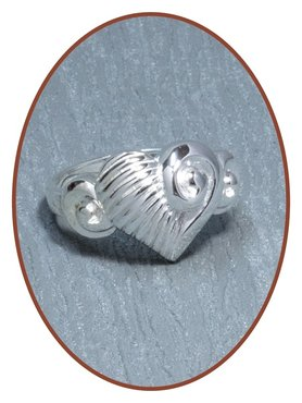 JB Memorials Sterling Zilveren Dames As Ring - RB079