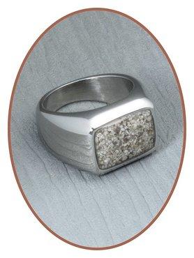 Edelstalen/RVS Heren As Ring - RB080
