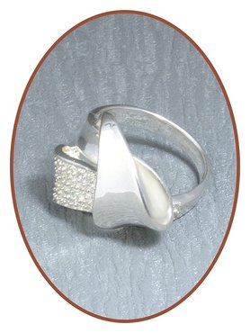 JB Memorials Sterling Zilveren Dames As Ring - RB034