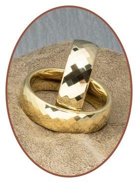 Forever Love Collection Tungsten Carbide Relatie Trouw Ringen Set - KR3139
