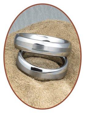 Forever Love Collection Tungsten Carbide Relatie Trouw Ringen Set - KR8056