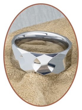 Tungsten Carbide Graveer Ring - KR8059