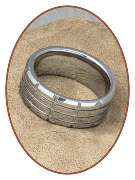 Tungsten Carbide Graveer Ring - KR8064