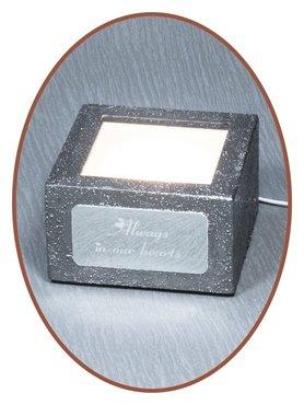 Mini As Urn / Led Voet (Voor 3D Kristal Blokken) - LED100