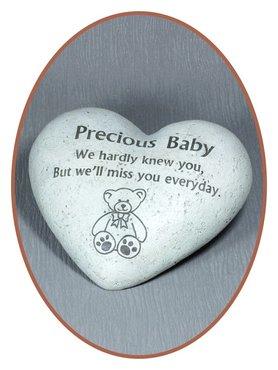 JB Memorials Gedenksteen Baby - M241