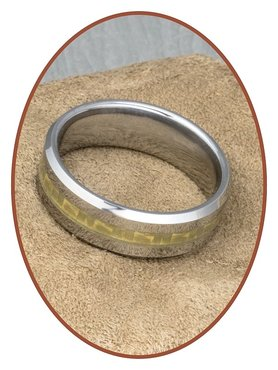Tungsten Carbide Graveer Ring - KR3108
