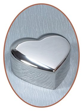 Graveerbare Memory Box / Mini Urn 'Heart' - JB1010