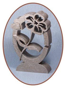 Midi Design As Urn (21cm) 'Flower' in diverse Kleuren - HM323