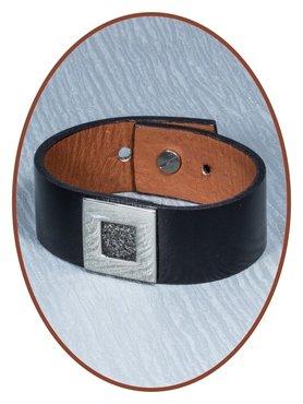 Kunst Lederen As Armband - AB218