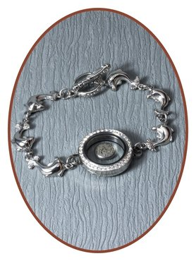 316L Edelstalen As Gedenk Armband - AB195
