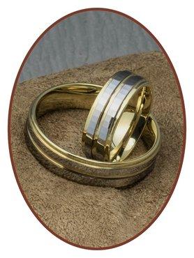 Forever Love Collection Tungsten Carbide Relatie Trouw Ringen Set - AA004