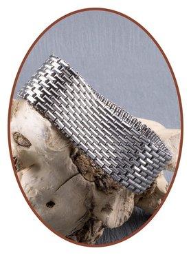 Edelstalen RVS Heren As Armband - ASB006B
