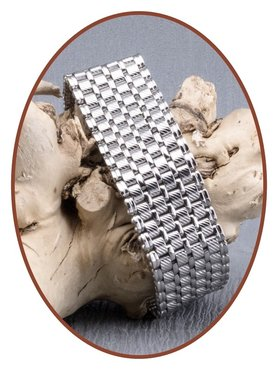 Edelstalen RVS Heren As Armband - ASB006