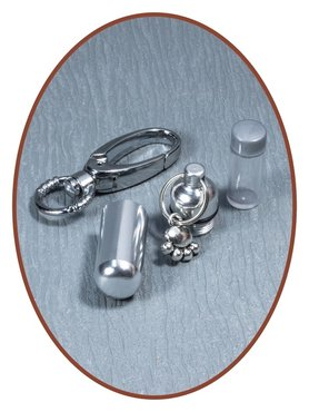 Aluminium Askoker / Sleutelhanger 'Poot' - ALU03P