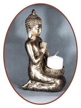 Midi Urn/ Memorybeeld Thai 'Buddha' 35cm - BU077