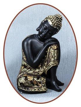 Midi Urn/ Memorybeeld Thai 'Buddha' 19cm - BU034