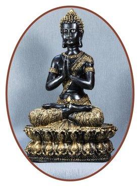 Midi Urn/ Memorybeeld Thai 'Buddha' 35cm - BU018D
