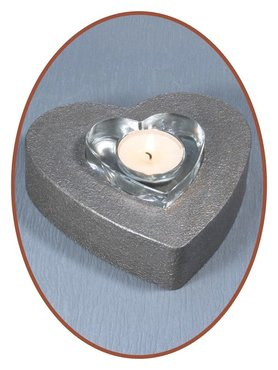 Mini As Urn 'Heart' met Theelichthouder - HM311