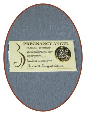 Angel Munt 'Pregnancy Angel' Met Kaartje - CARD04