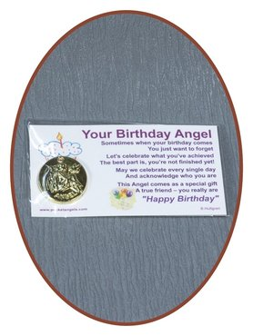 Angel Munt 'Your Birthday Angel' Met Kaartje - CARD05