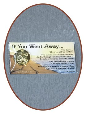 Angel Munt 'If You Went Away' Met Kaartje - CARD08