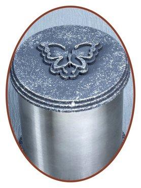 Edelstalen (RVS) Urn 'Classical Round'   - HM318R