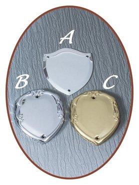 Aluminium Graveer Schildjes - EPG6