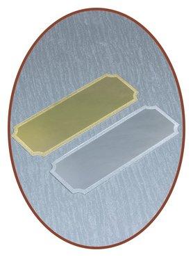 Metalen Graveer Plaatje - EPG9