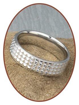 316L Edelstalen Graveer Ring - TOR17