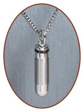 Edelstalen/RVS JB Memorials Premium Design 'Bullit' Ashanger - B010A