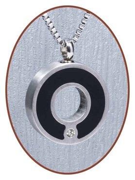 Edelstalen/RVS 'Circle' Ashanger - B209