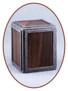 Midi As Urn met Mooie Walnoot Graveerbare Deco Inlagen - HM301W