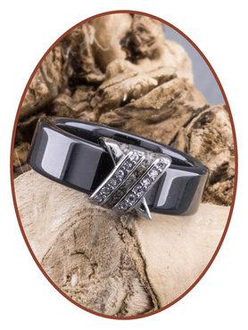 Ceramic Zirconium Dames As Ring  - TC04