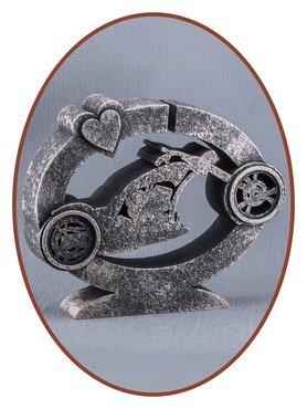 Midi Design As Urn 'Biker' in diverse Kleuren - HM324