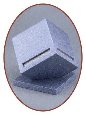Design As Urn 'Cube' met Zichtbare As in Diverse Kleuren - HM403
