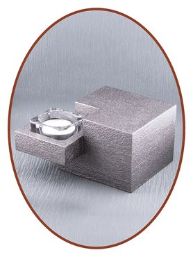 Mini As Urn Modern met Theelichthouder - HM409