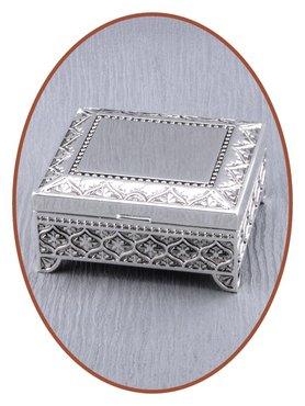 Graveerbare Memory Box / Mini Urn 'Square' - M385