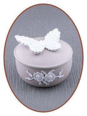 Memory Box / Mini Urn 'Vlinder' - M388