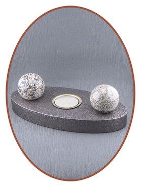 Mini Duo Glas As Urn in Diverse Kleuren - HM437D