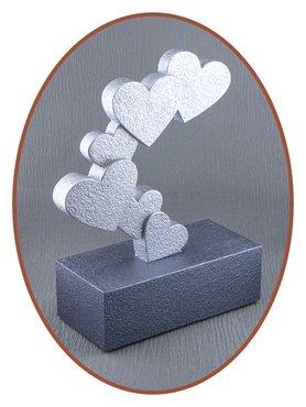 Mini As Urn 'Hearts' - HM420